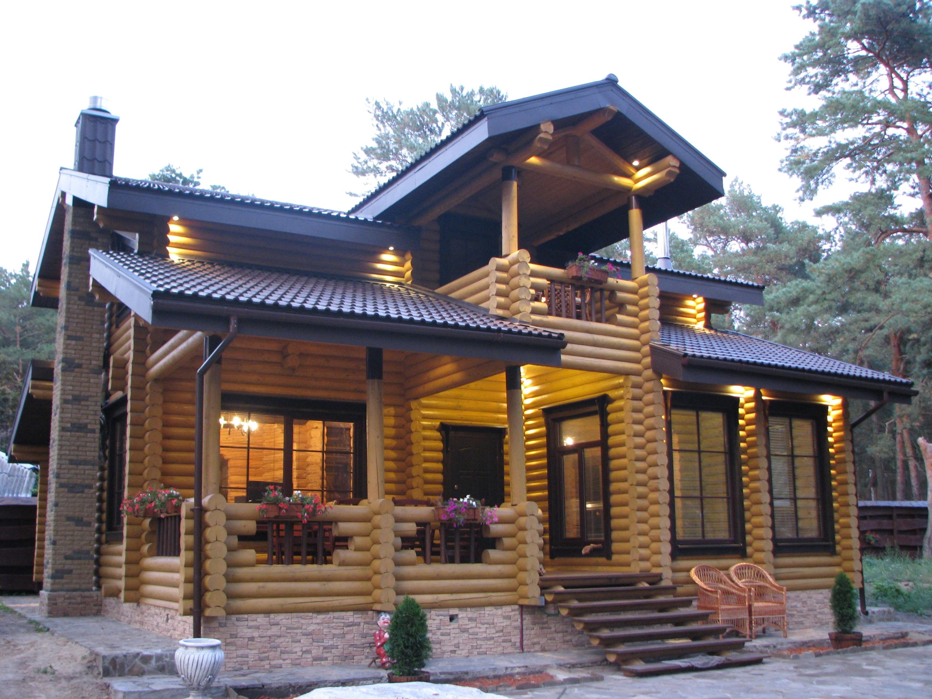 Стиль хаус строительство деревянных